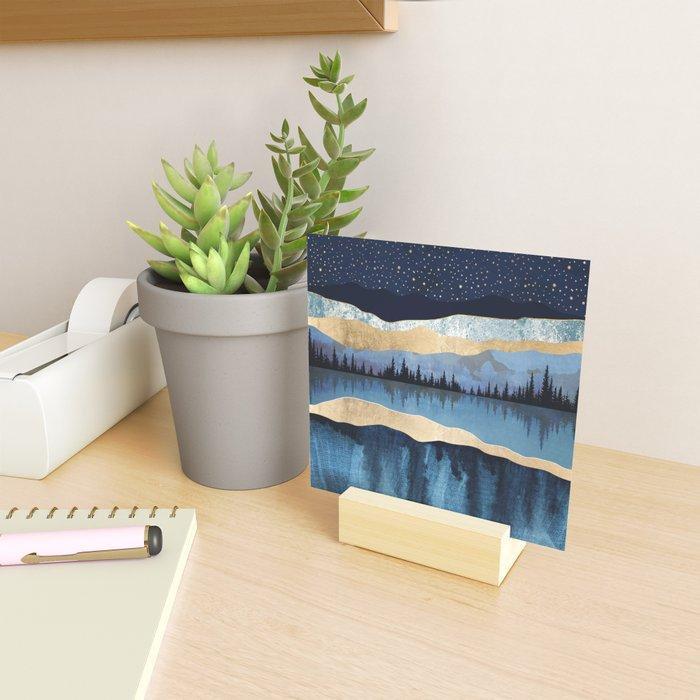 Midnight Lake Mini Art Print