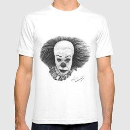 Pennywise - Ballpoint Pen Illustration T-shirt