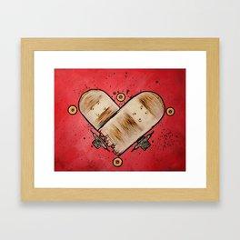 Stuntwood Love Framed Art Print