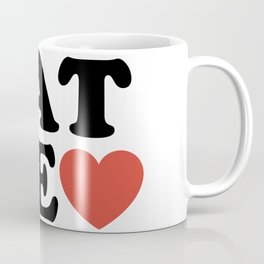 PAT ME <3 Coffee Mug