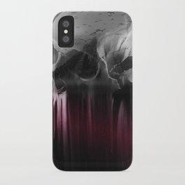 Creepy skull iPhone Case