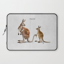 Being Tailed Laptop Sleeve