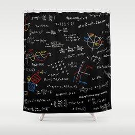 Math Equation Shower Curtain