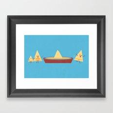 Dun Dun Dun Framed Art Print