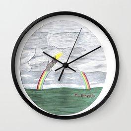 Till We Meet Again - Scottish Terriers Wall Clock