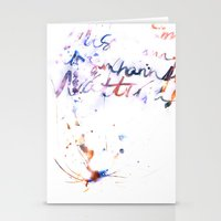 bjork Stationery Cards featuring Bjork by Bezmo Designs