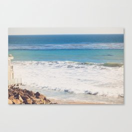 Malibu Blues Canvas Print
