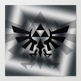 The Legend Of Zelda Logo Canvas Print
