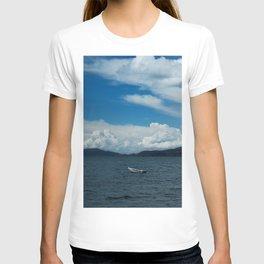 Titicaca lake raft T-shirt