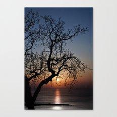 Sorrento Evening Sunset Canvas Print
