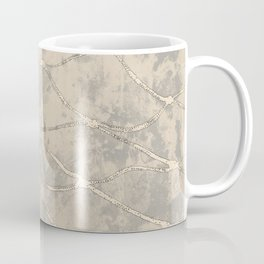 Fishing net with a texture background Coffee Mug