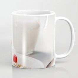 Oatmeal porridge with fresh berries and almond milk Coffee Mug