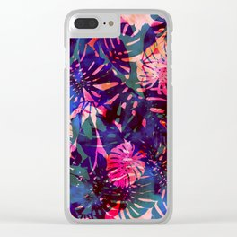 Motuu Tropical CMY Clear iPhone Case