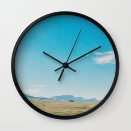 Big Sky Country Wall Clock
