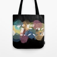 good vibes Tote Bags featuring GOOD VIBES by Lasse Egholm