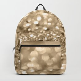 Champagne Gold Lady Glitter #2 #shiny #decor #art #society6 Backpack