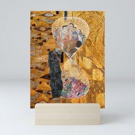 klimt, life and death Mini Art Print