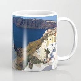Oia, Greece (photo) Coffee Mug