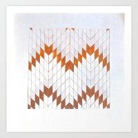 Flechas de metal Art Print