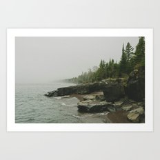 Lake Superior. Lutsen, MN Art Print