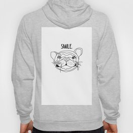 Smile - Frenchie Hoody