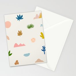Abstraction_Nature_Wonderful_Day_02 Stationery Cards