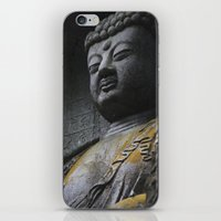 buddah iPhone & iPod Skins featuring Buddah  by Scene by Emily