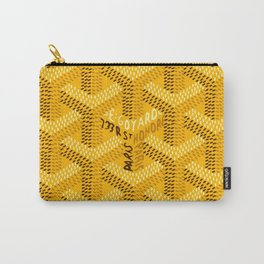 goyard yellow Carry-All Pouch