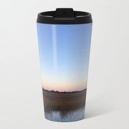 marsh sunset Metal Travel Mug