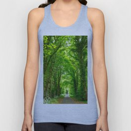 Tunnel Of Trees Unisex Tank Top