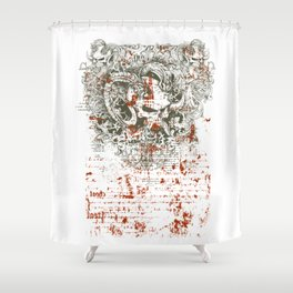 Satan - Lucifer Shower Curtain