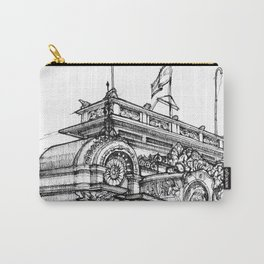 Fine Point Urban Sketch - Costa Rica Carry-All Pouch