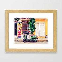 Colorful Caribbean Fine Art Print Framed Art Print
