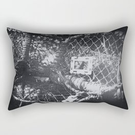 Lobster pots by the sea Rectangular Pillow