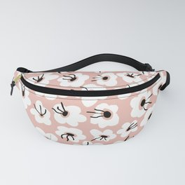 Florals (Pink) Fanny Pack