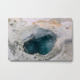 Geothermal in Yellowstone Metal Print