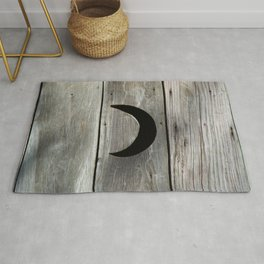 Outhouse Moon Rug