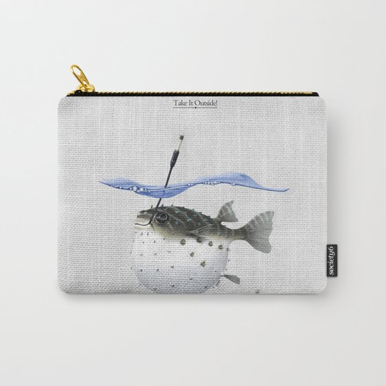 Take It Outside! Carry-All Pouch