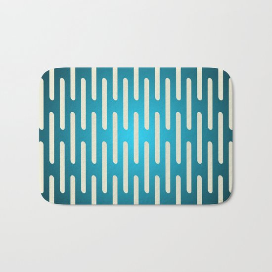 seamless pattern with gradient background Bath Mat
