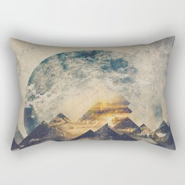 One mountain at a time Rectangular Pillow