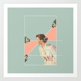 On Display Art Print