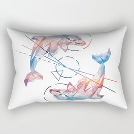 Spirit of the Dolphin Rectangular Pillow