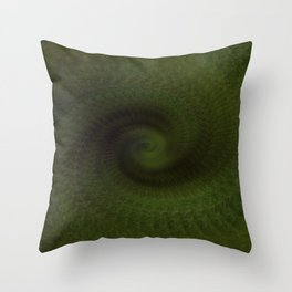 Green Vision Throw Pillow