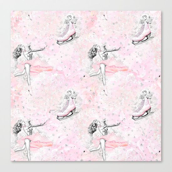 Figure Skating #2 Canvas Print