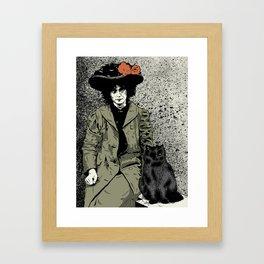 Plutón Framed Art Print