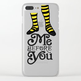 Me Before You Clear iPhone Case