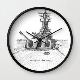 USS Missouri, Pearl Harbor Wall Clock