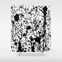 chaos Shower Curtains featuring Chaos by ZantosDesign