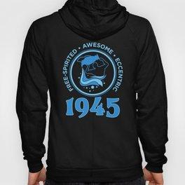 Aquarius 1945 Birthday Gift Hoody