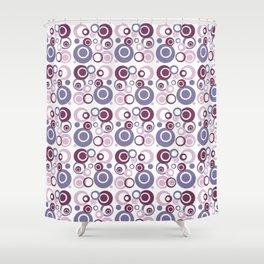 Retro Bubbles #2 Shower Curtain